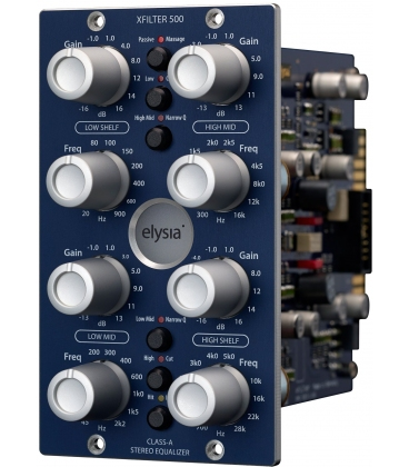 ELYSIA XFILTER 500 SERIES EQUALIZZATORE