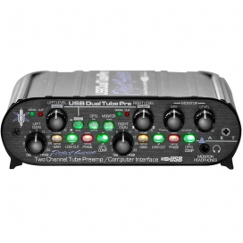 ART USB DUAL TUBE PRE 2 CHANNEL PREAMP
