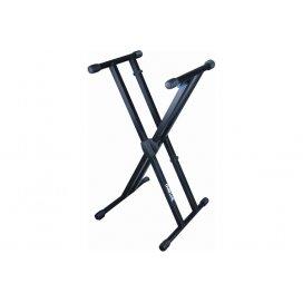 """Quik Lok T/550 supporto a """"X"""" per tastiera a doppio telaio"""