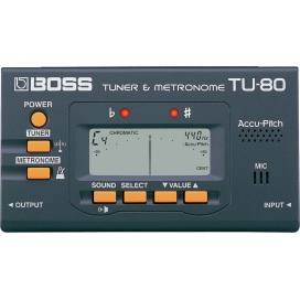 BOSS TU80 TUNER METRONOME