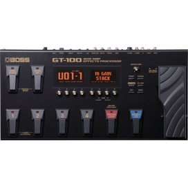 BOSS GT-100 AMP EFFECT PROCESSOR