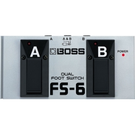 BOSS FS-6 DUAL FOOTSWITCH PEDAL