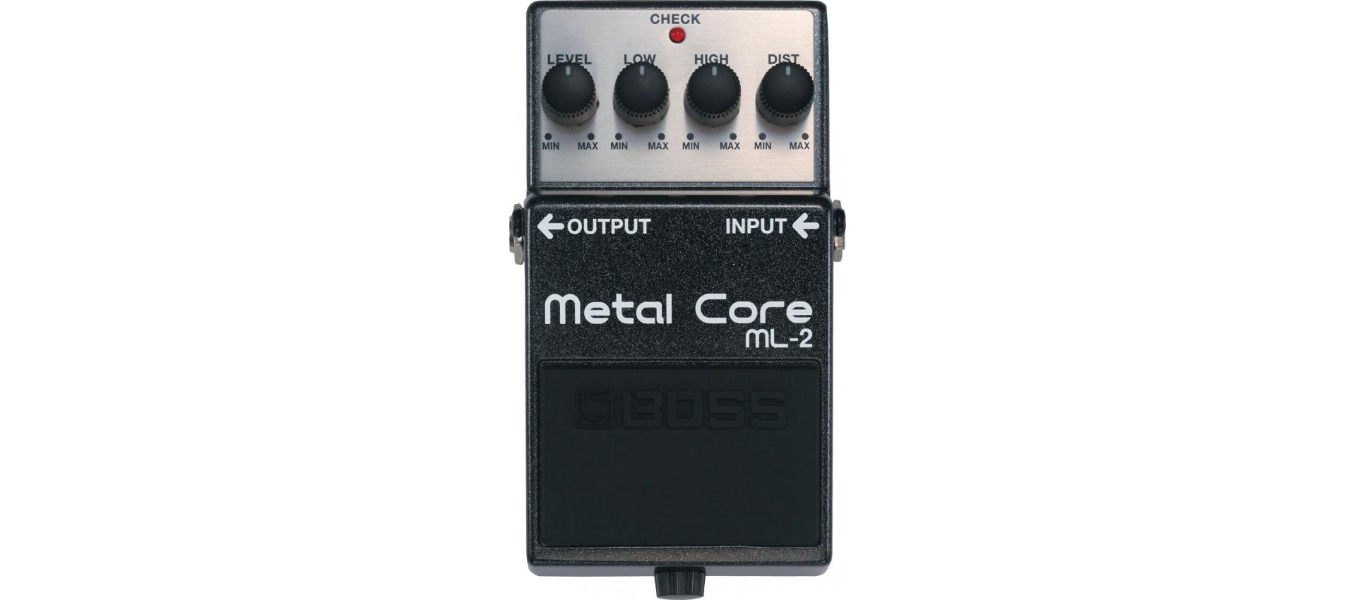 boss ml2 metal core pedali per chitarra. Black Bedroom Furniture Sets. Home Design Ideas