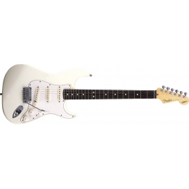 FENDER STRATOCASTER JEFF BECK OLYMPIC WHITE
