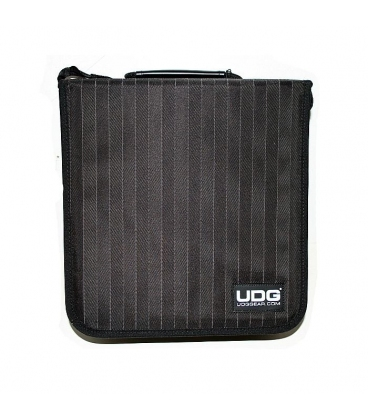 UDG CD WALLET 280 BLACK GRAY STRIPE U9978BG