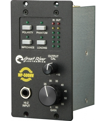 GREAT RIVER MP-500 SINGLE CHANNEL API SERIES