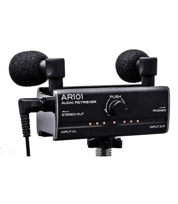 FOSTEX AR101 AUDIO RETRIEVER MICROFONO E INTERFACCIA PER IPHONE