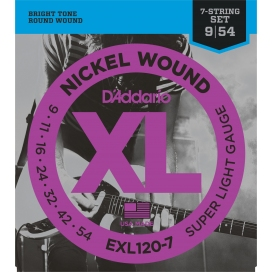 D'ADDARIO EXL120/7