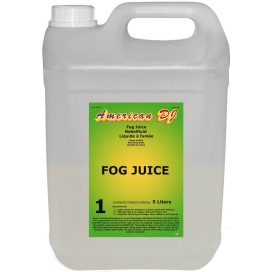 AMERICAN DJ FOG JUICE 1 LIGHT SMOKE LIQUID 5LT