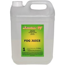 AMERICAN DJ FOG JUICE 1 LIGHT SMOKE LIQUID 5LT
