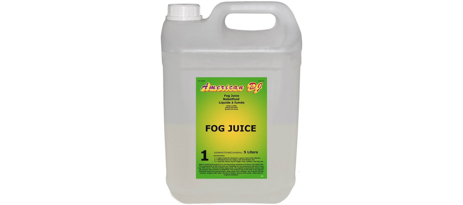 fog machine juice
