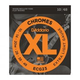 D'ADDARIO ECG23 CHROMES 10-48