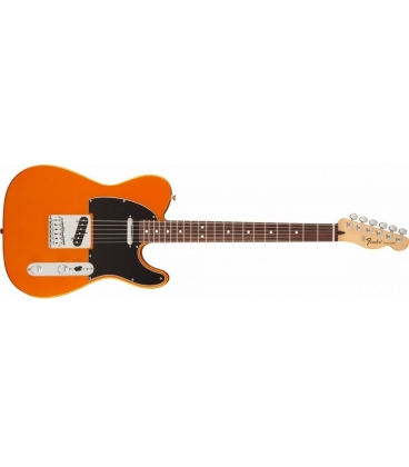 FENDER TELECASTER SATIN FSR MADE IN MEXICO FLAME ORANGE ROSEWOOD