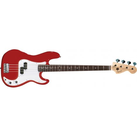 SQUIER AFFINITY PRECISION BASS METALLIC RED RW