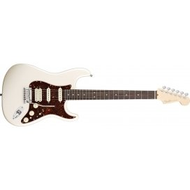 FENDER STRATOCASTER AMERICAN DELUXE HSS OLYMPIC PEARL RW