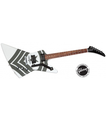 GIBSON JASON HOOK M-4 SHERMAN EXPLORER ALPINE WHITE W/ARMY GREEN STRIPES