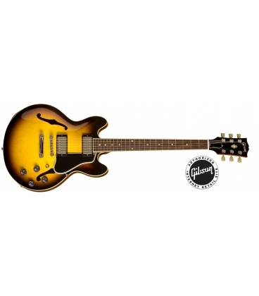 GIBSON ES339 ANTIQUE VINTAGE SUNBURST NICKEL HARDWARE