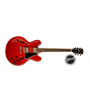GIBSON ES-335 DOT REISSUE SATIN FINISH RED