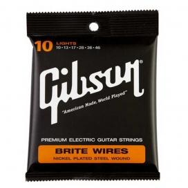 GIBSON SEG-700L BRITE WIRES 010-046