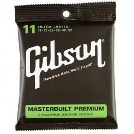 GIBSON SAG-MB11 MASTERBUILT PHOSPHOR BRONZE 0.11/0.52