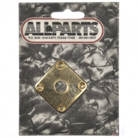 ALL PARTS JACK PLATE PER GIBSON® LES PAUL® METALLO GOLD