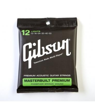 GIBSON SAG-MB12 MASTERBUILT PHOSPHOR BRONZE 0.12/0.52
