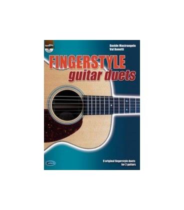 MASTRANGELO/BONETTI FINGERSTYLE GUITAR DUETS + CD