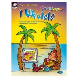 CAPPELLARI SUONIAMO UKULELE + CD
