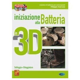 CARUSO INIZIAZIONE BATTERIA 3D CD+DVD ML3028