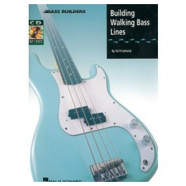 FRIEDLAND BUILDING WALKING BASS LINE + CD