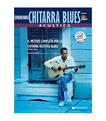 MANZI CHITARRA BLUES ACUSTICA + CD