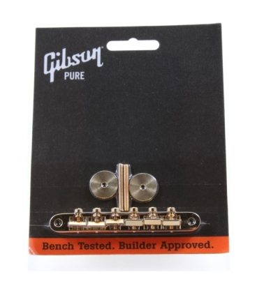 GIBSON PBBR-020 GOLD ABR-1 BRIDGE W/FULL ASSEMBLY