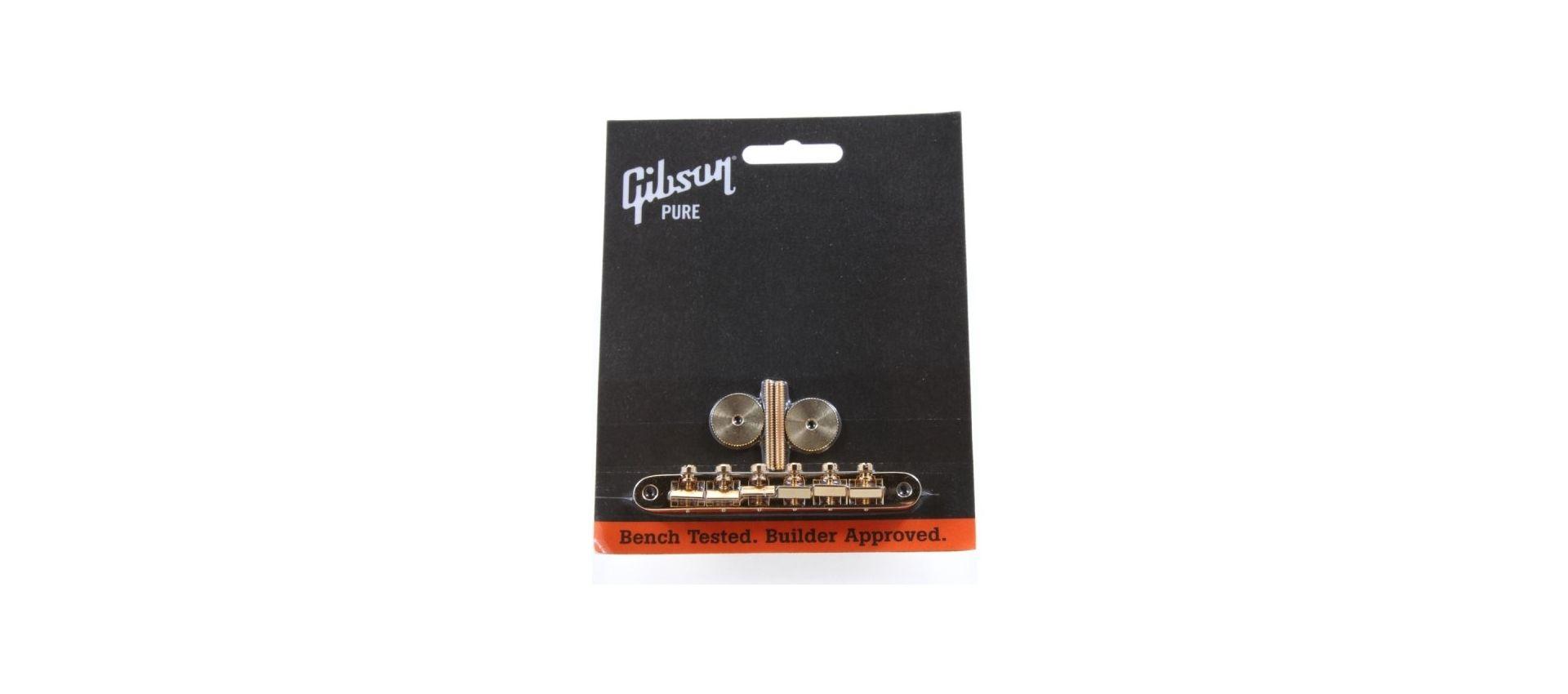 Gibson pbbr-020 gold abr-1 bridge w/full assembly: Hardware vario