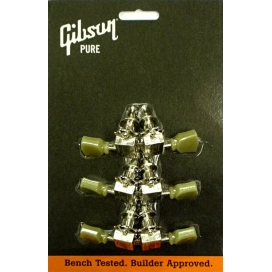GIBSON PMMH-010 MECCANICHE VINTAGE NICKEL PEARLOID BUTTONS