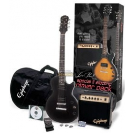 EPIPHONE SPECIAL II PLAYER PACK EBONY