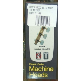 GOTOH 35G620 CLASSIC MACHINE HEADS CONCERTO GOLD 121327
