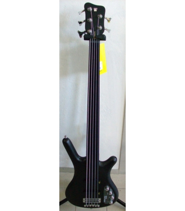 WARWICK RB CORVETTE BASIC 5 FRETLESS OFC NIRVANA BLACK