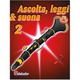KASTELEIN ASCOLTA LEGGI SUONA - CLARINETTO V. 2 + CD