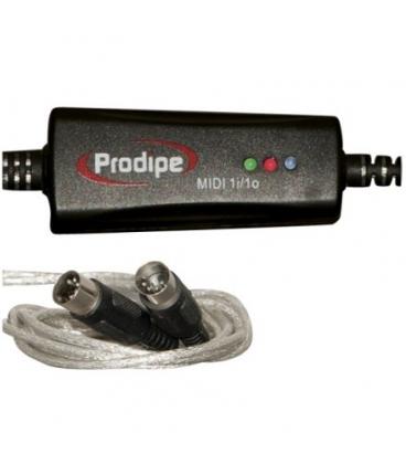 PRODIPE PRO 1I1O INTERFACCIA MIDI USB