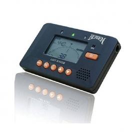 BERGEN LMT 810 GB BLACK ACCORDATORE E METRONOMO