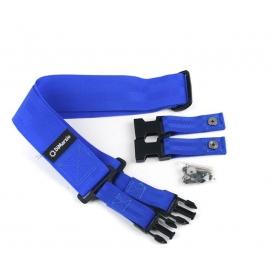 DI MARZIO DD2200 BL TRACOLLA BLUE CLIP SECURITY LOCK