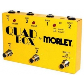 MORLEY QUAD BOX SELETTORE A PEDALE