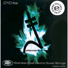 PEAVEY ELEMENTS STAINLESS STEEL WOUND 10'S