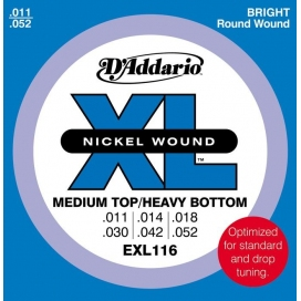 D'ADDARIO EXL116 11/52 MEDIUM/HEAVY