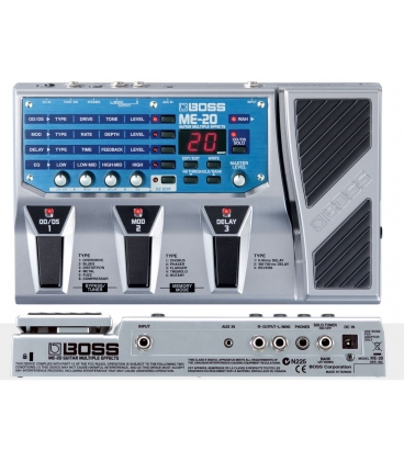 BOSS ME20 GUITAR MULTIEFFECT