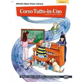 PALMER/MANUS CORSO TUTTO IN UNO PIANOFORTE LIVELLO 3 MB107