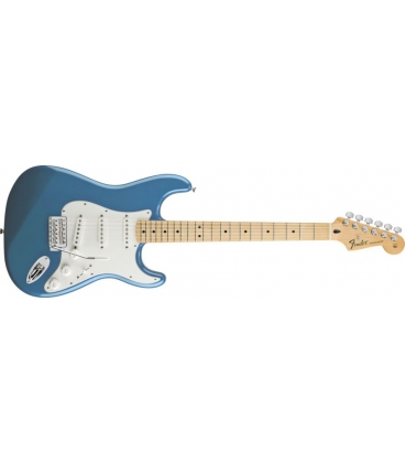 FENDER STRATOCASTER MEX STANDARD MN LAKE PLACID BLUE TINTED