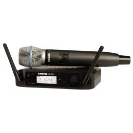 SHURE GLXD24E BETA87A RADIO SISTEMA A MANO