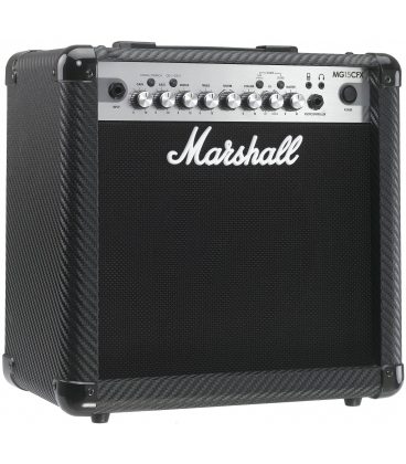 MARSHALL MG4 MG15CFX COMBO 15W DIGITAL EFFECT CARBON FIBER