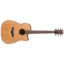 IBANEZ AW65-ECE LG CHITARRA ELETTROAC. NATURAL SATIN